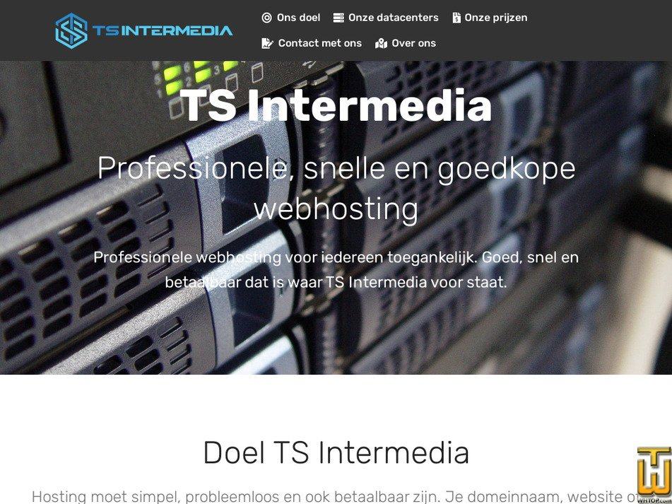 ts-intermedia.nl Screenshot