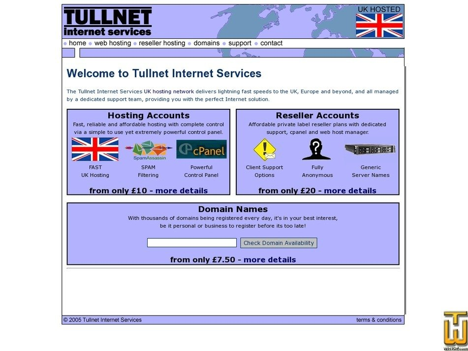 tullnet.com Screenshot