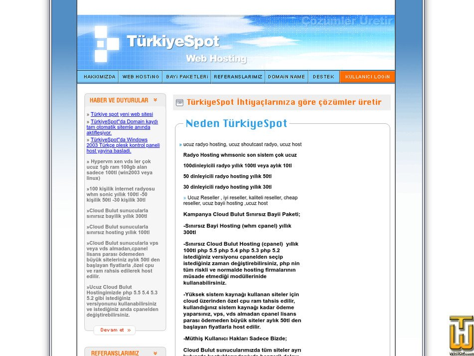 turkiyespot.com Screenshot