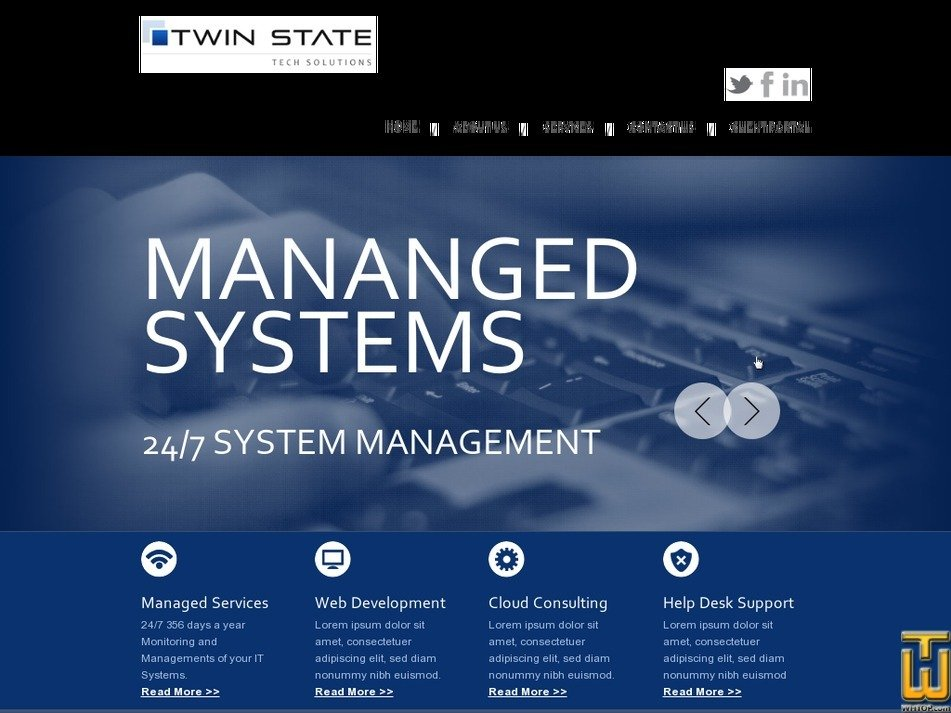 twinstatetech.com Screenshot