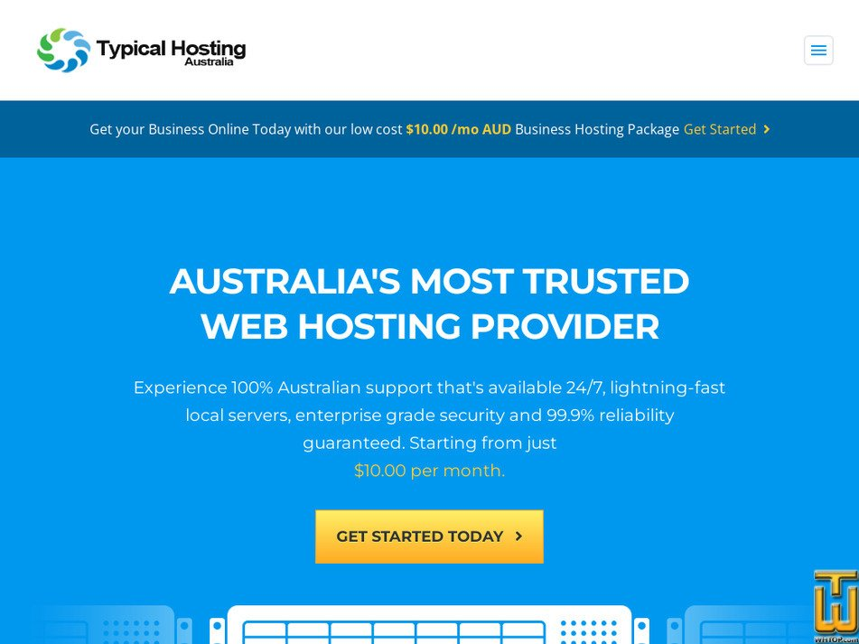 typicalhosting.com Screenshot