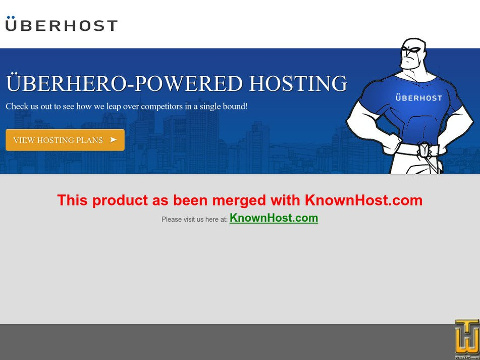 uberhost.net Screenshot