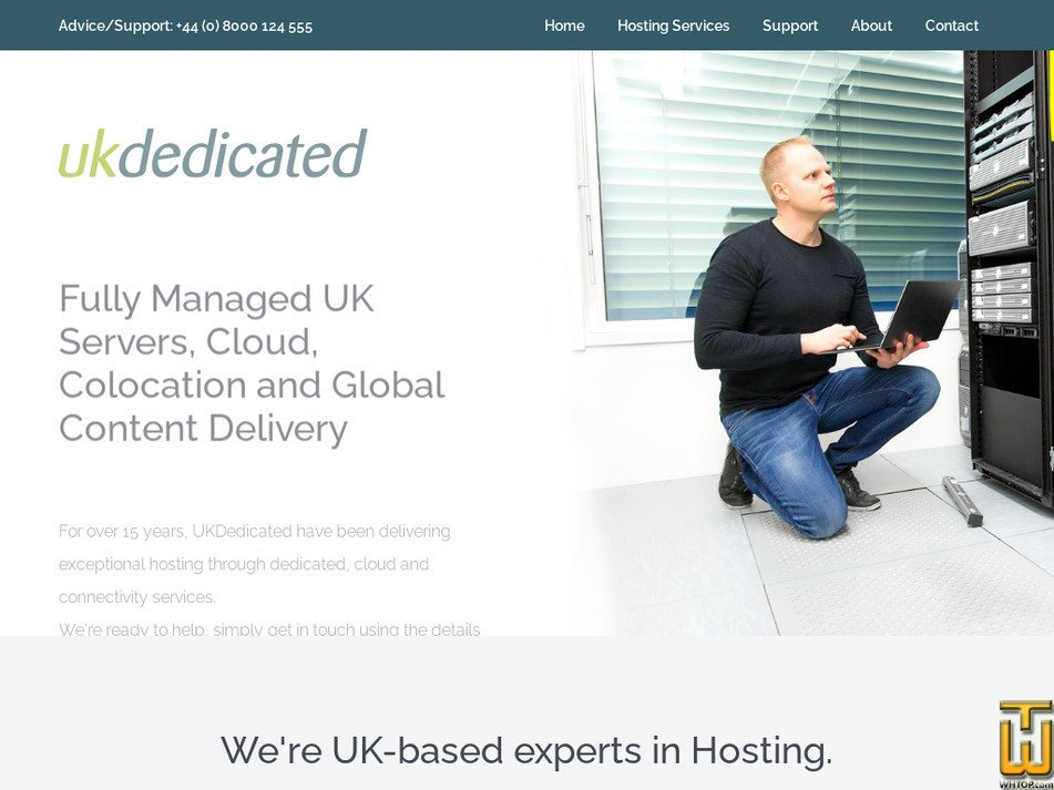 ukdedicated.com Screenshot