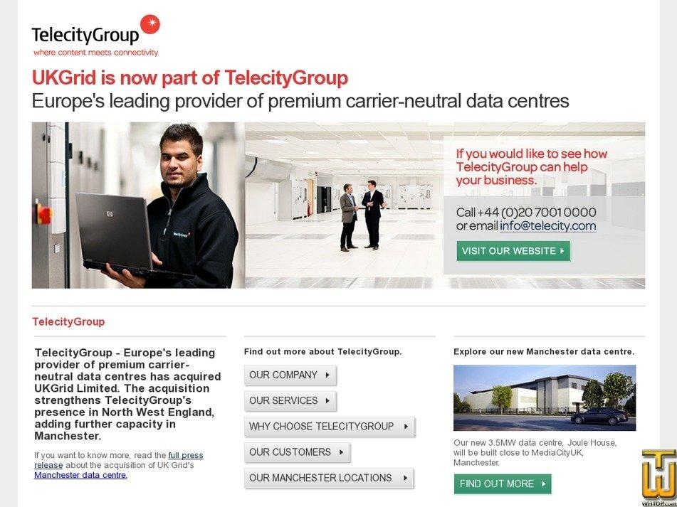 ukgrid.net Screenshot