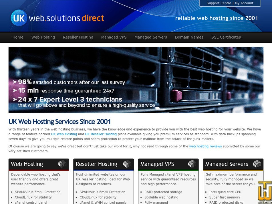 ukwebsolutionsdirect.co.uk Screenshot