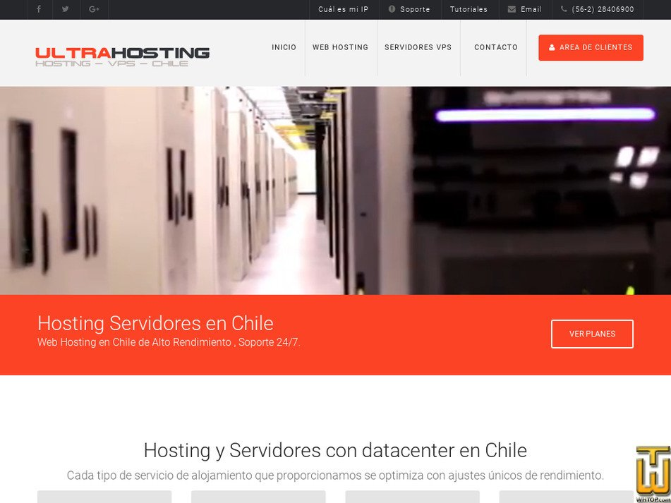 ultrahosting.cl Screenshot