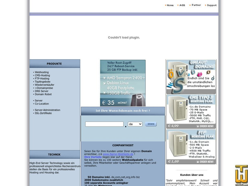 ultraserver.org Screenshot