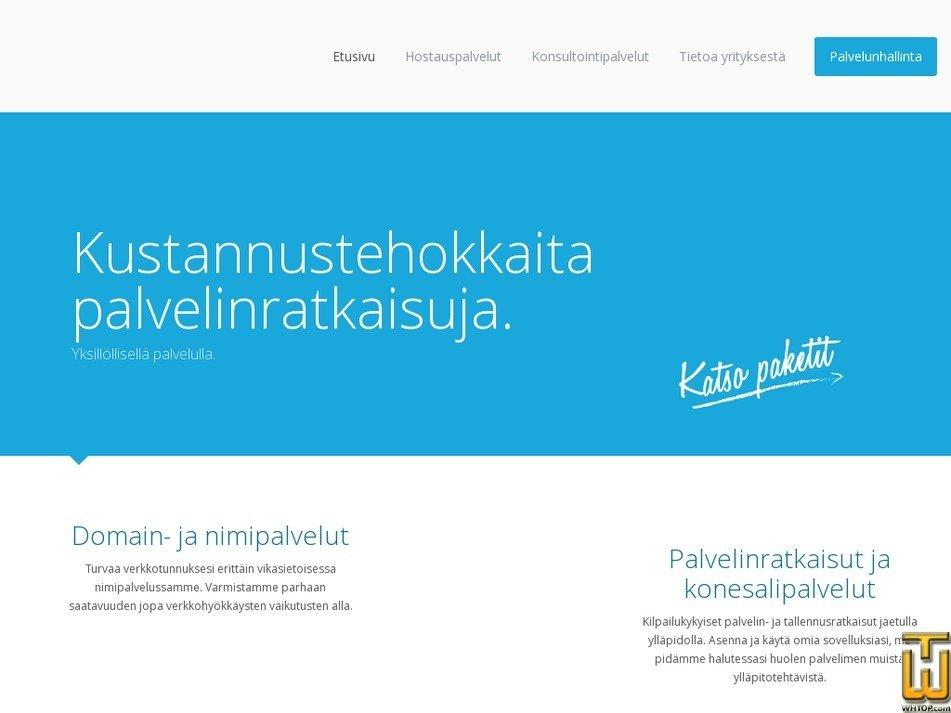 unihost.fi Screenshot