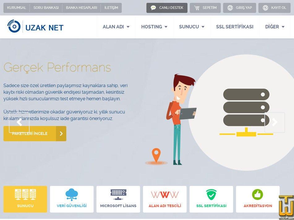 uzak.net.tr Screenshot