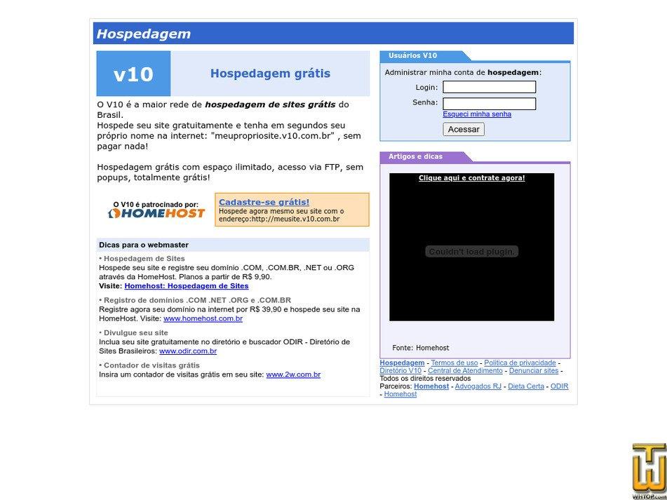 v10.com.br Screenshot