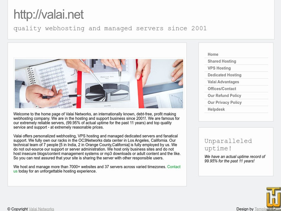 valai.net Screenshot