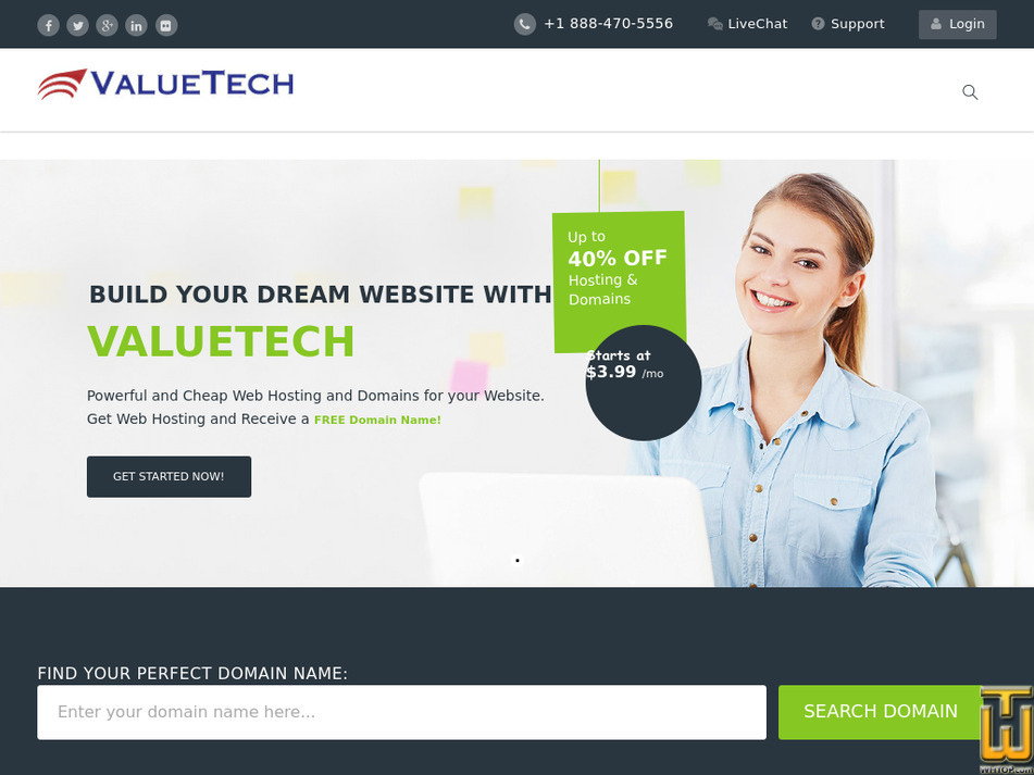 valuetech.com Screenshot