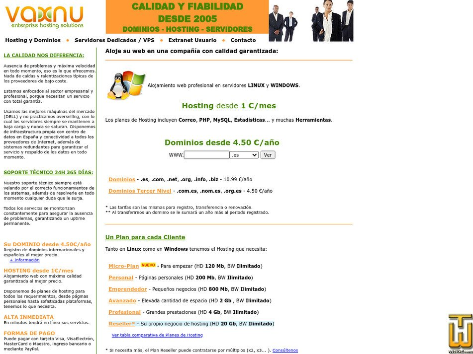 vaxnu.com Screenshot