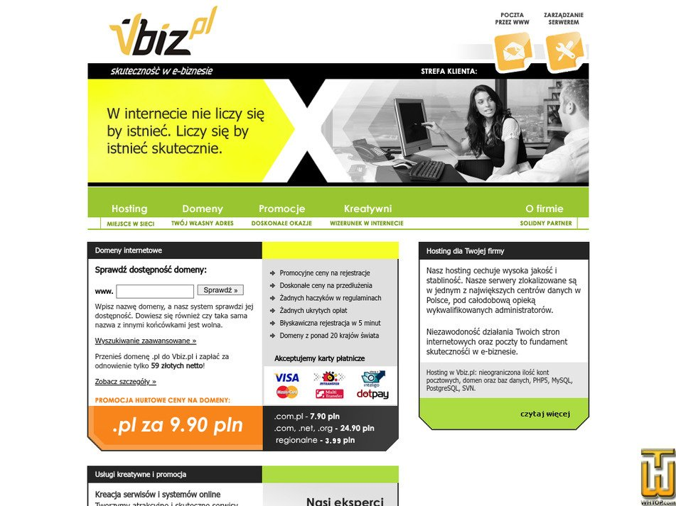 vbiz.pl Screenshot