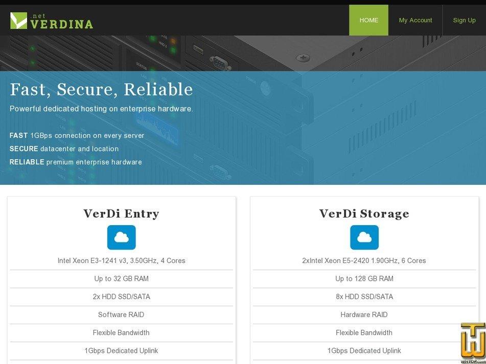 verdina.net Screenshot