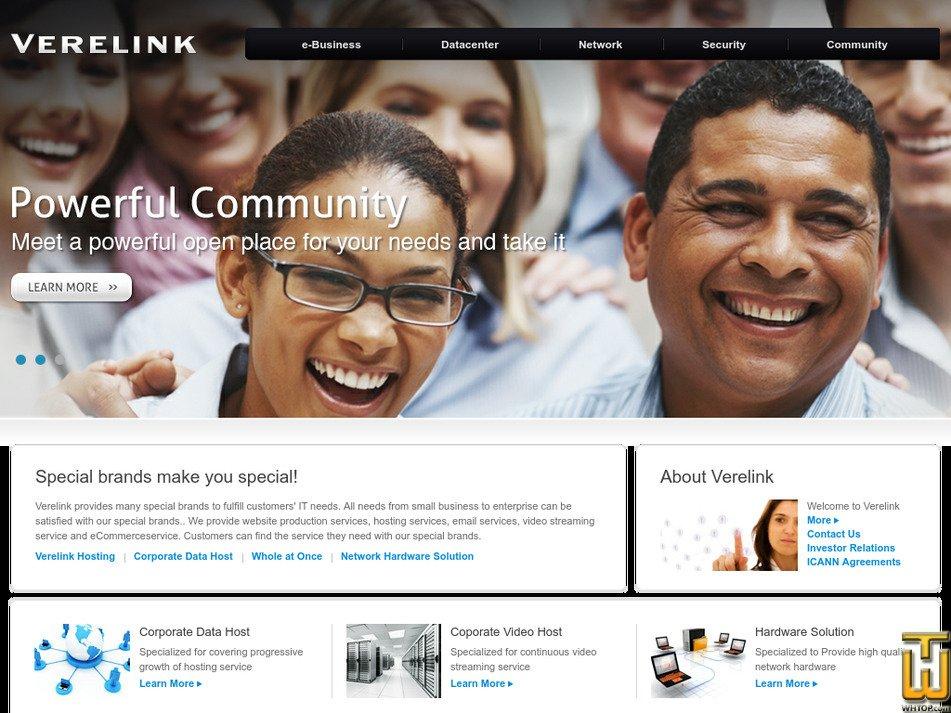 verelink.com Screenshot