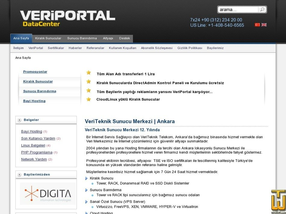 veriportal.com Screenshot
