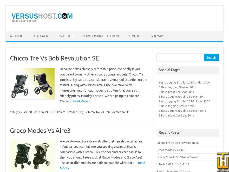versushost.com Screenshot