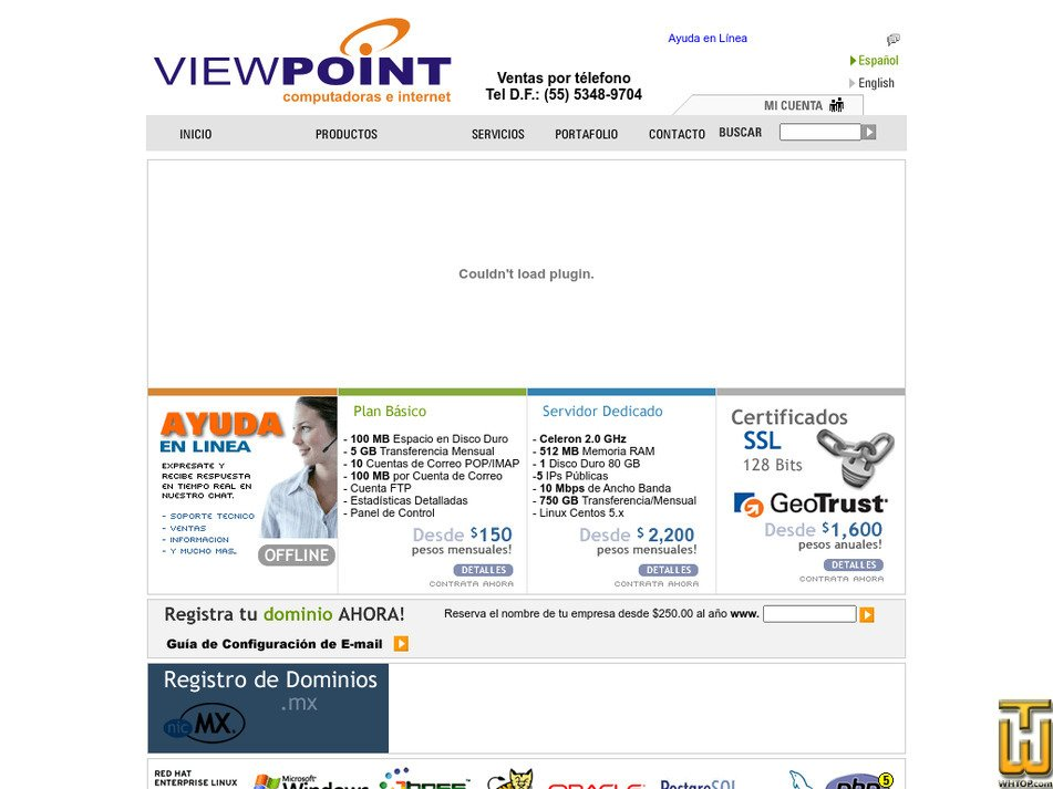 viewpoint.com.mx Screenshot