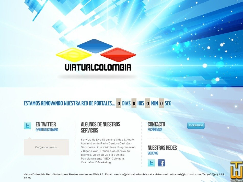 virtualcolombia.net Screenshot