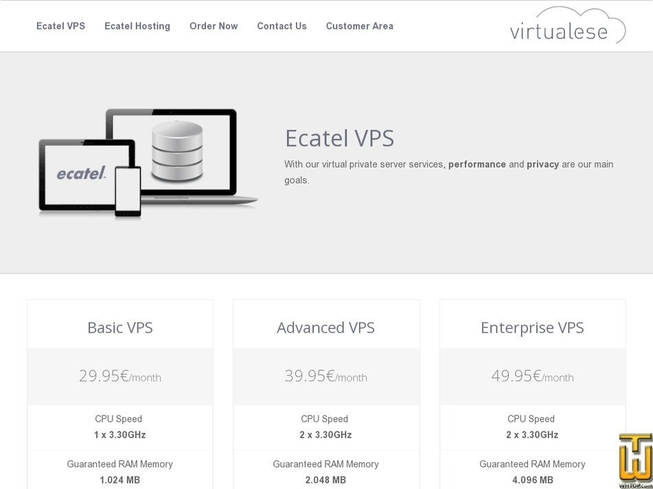 virtualese.com Screenshot