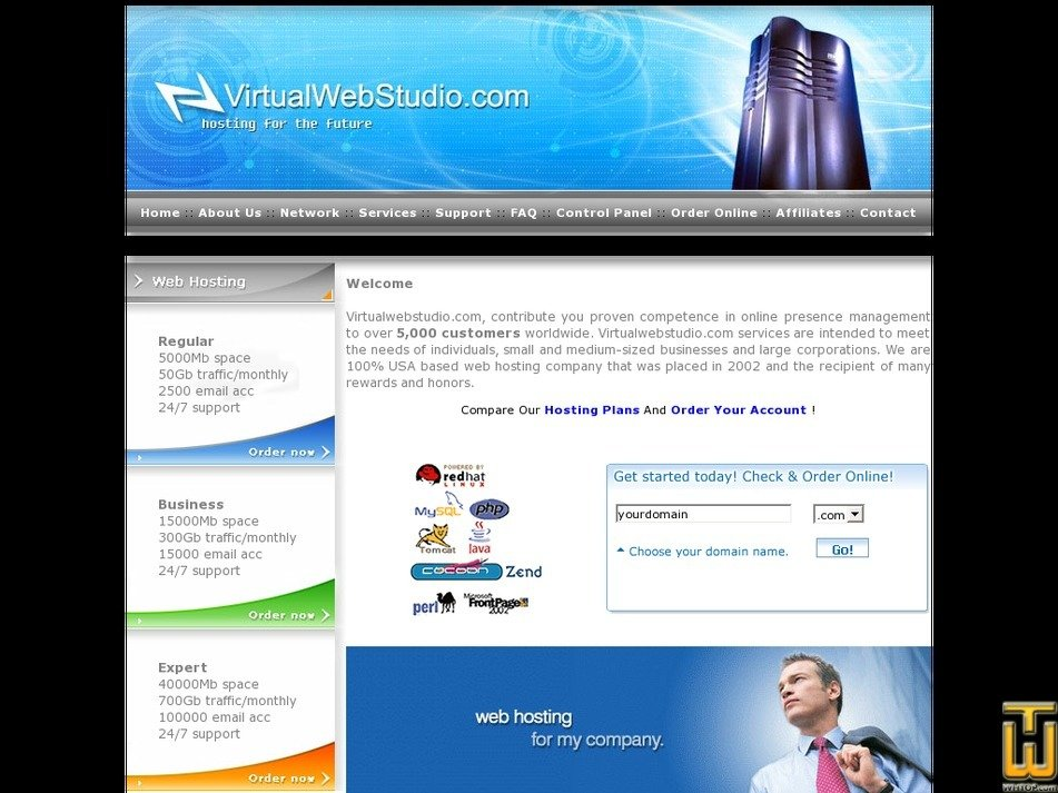 virtualwebstudio.com Screenshot