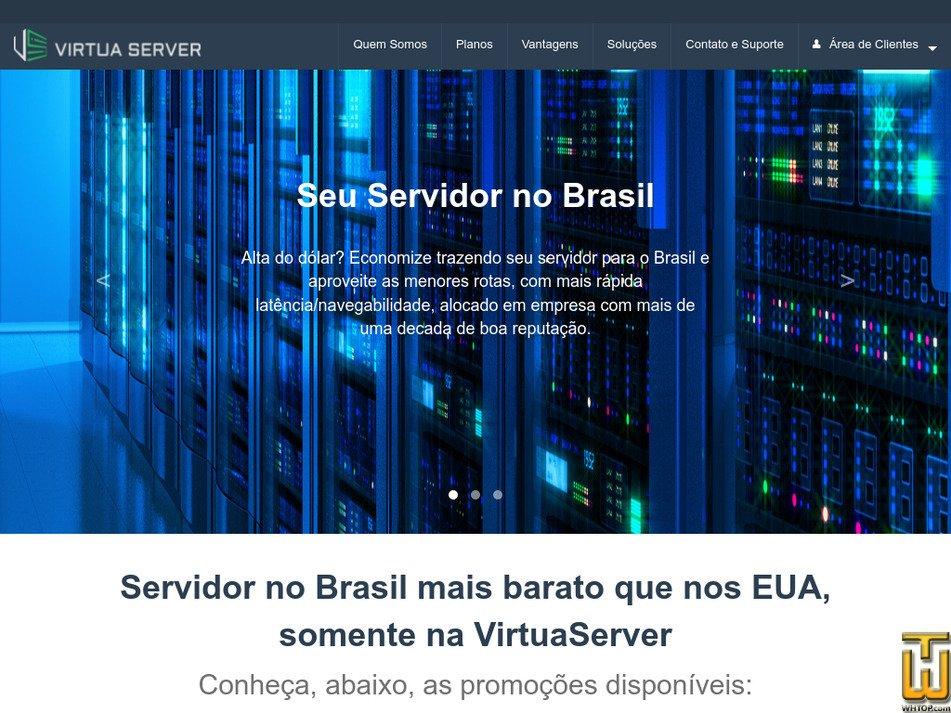 virtuaserver.com.br Screenshot