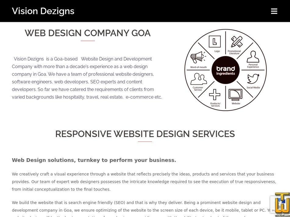 visiondezigns.com Screenshot