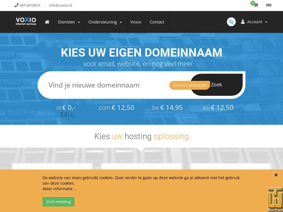 voxio.nl Screenshot