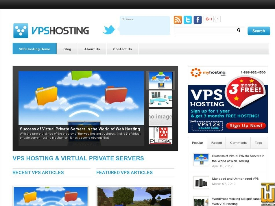 vpshosting.net Screenshot