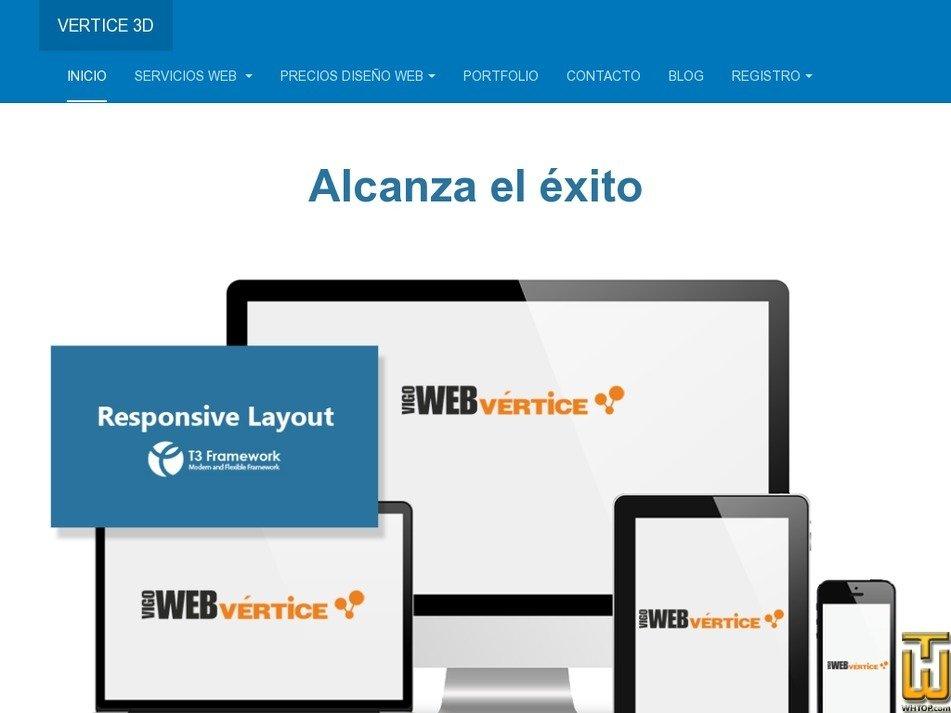 web-vigo-vertice.es Screenshot