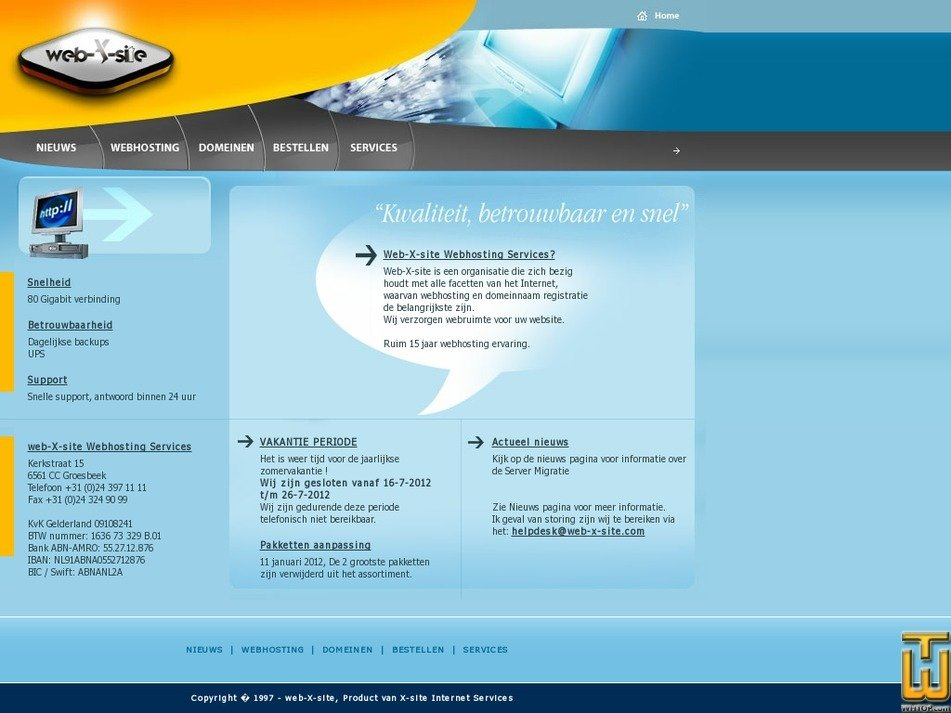 web-x-site.com Screenshot