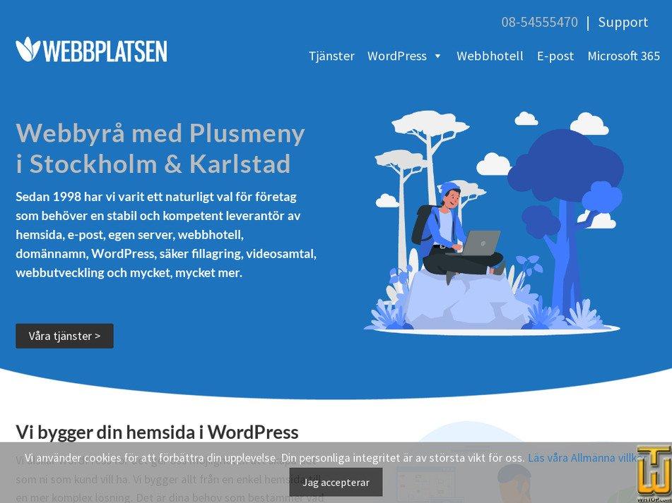 webbplatsen.se Screenshot