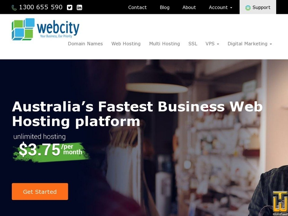 webcity.com.au Screenshot