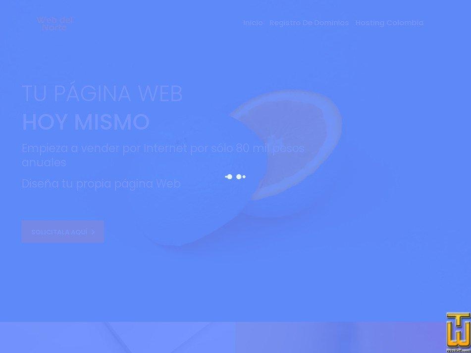 webdelnorte.com Screenshot