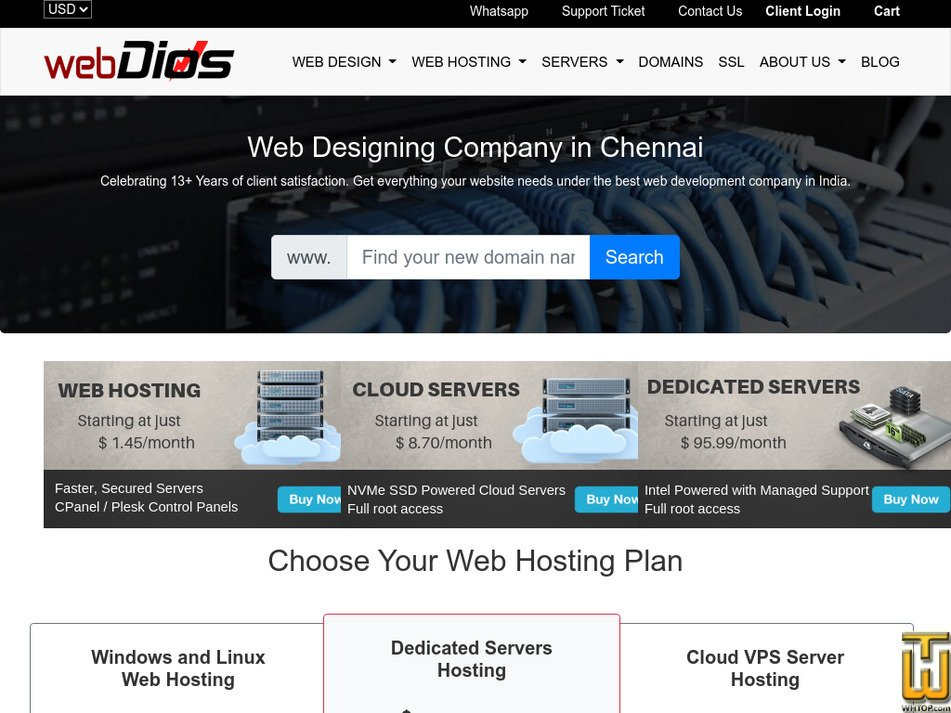 webdios.com Screenshot