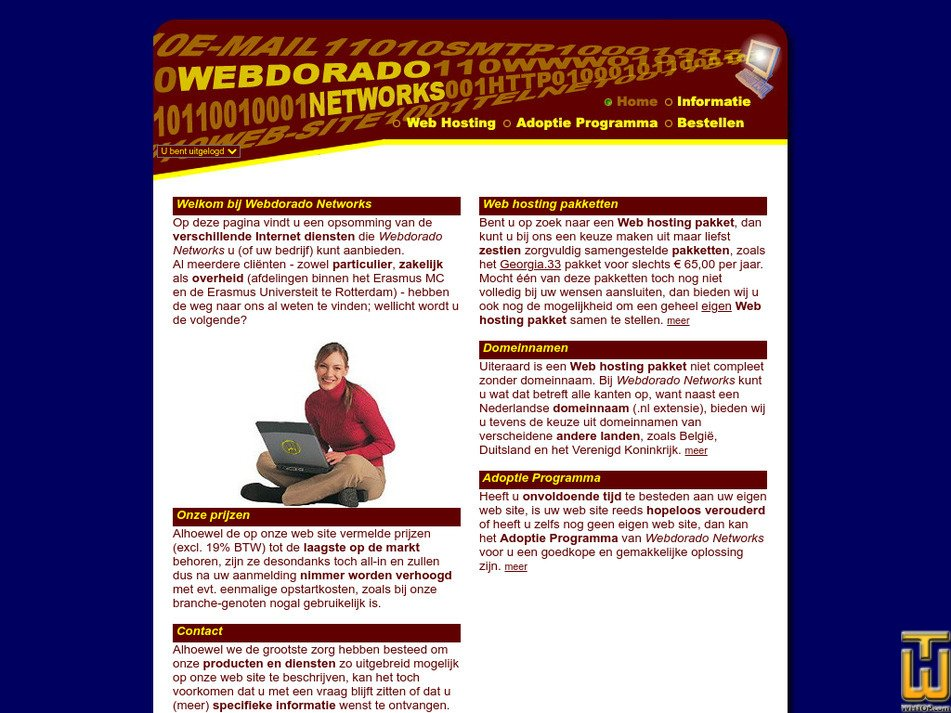 webdorado.net Screenshot