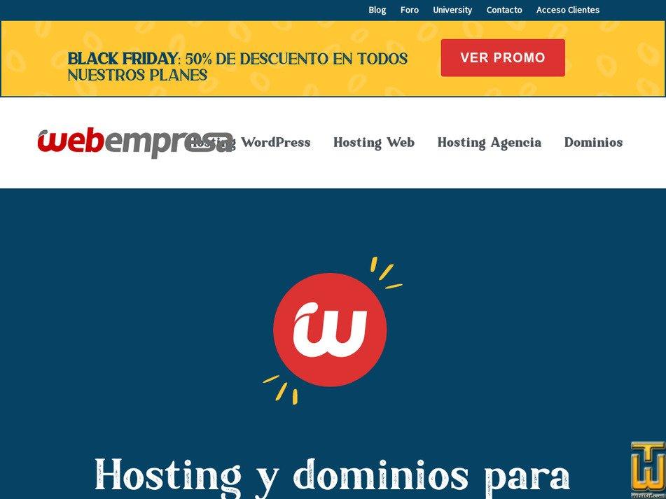 webempresa.com Screenshot