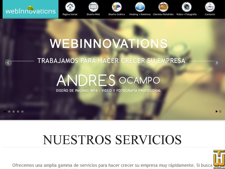 webinnovations3d.com Screenshot