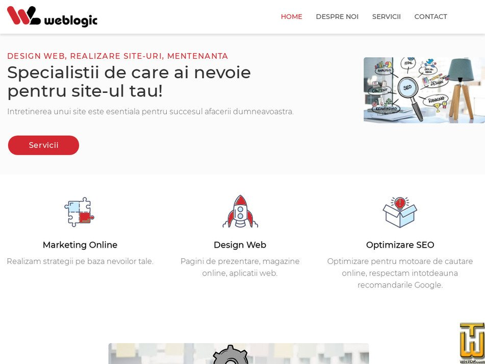 weblogic.ro Screenshot