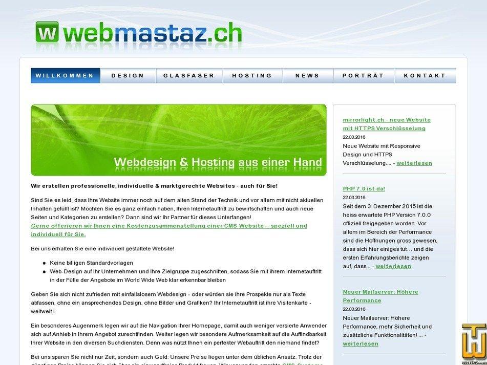 webmastaz.ch Screenshot