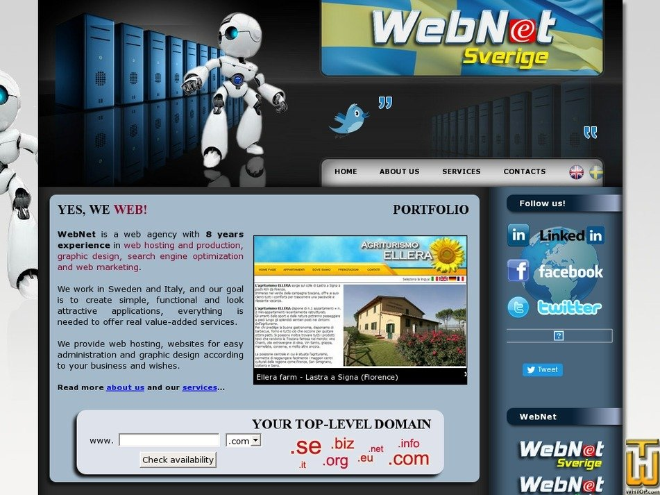 webnet-sverige.com Screenshot