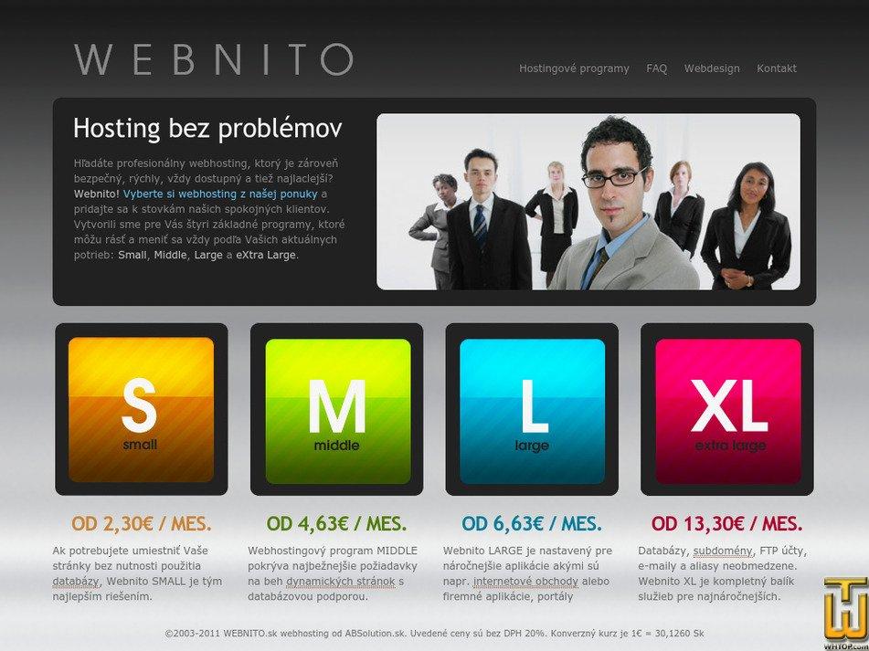webnito.sk Screenshot