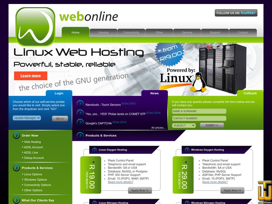 webonline.biz Screenshot