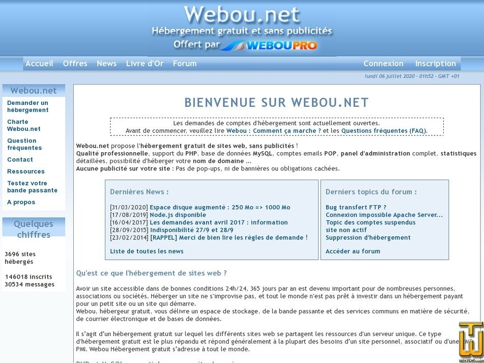 webou.net Screenshot