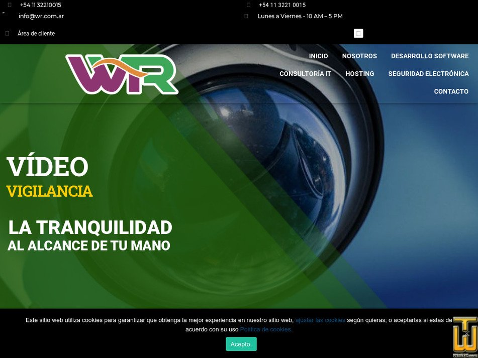 webregistrada.com.ar Screenshot