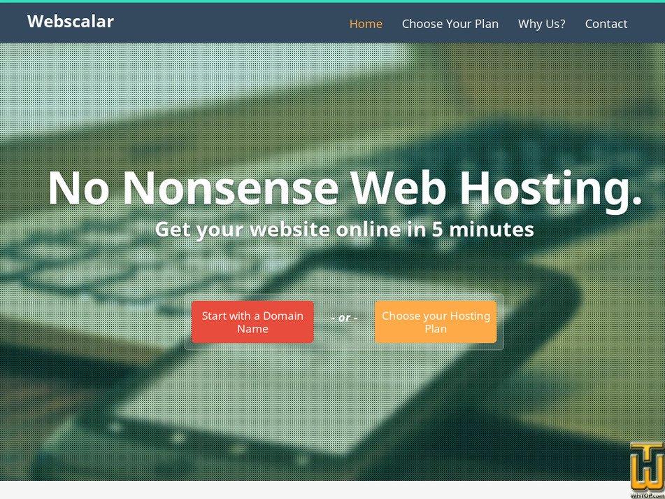 webscalar.net Screenshot