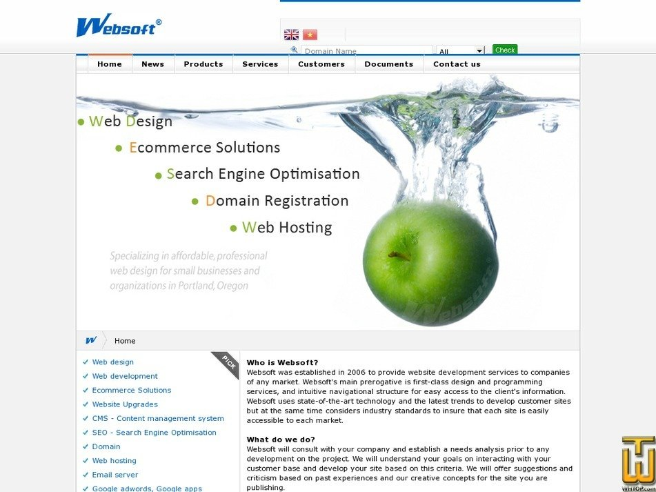 websoft.com.vn Screenshot