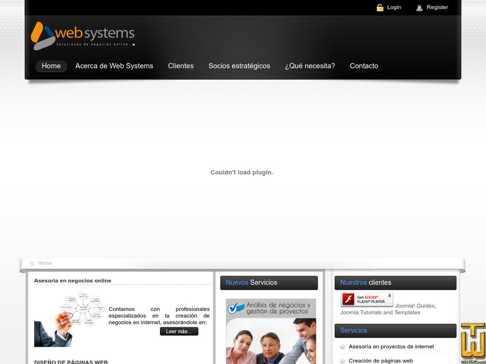websystems.com.ec Screenshot