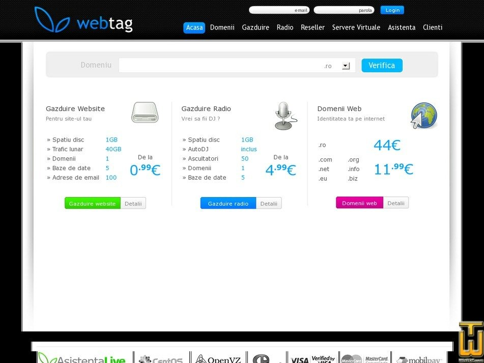webtag.ro Screenshot
